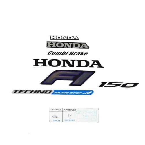 Foto Produk Sticker Body (Stripe Set R White) New Vario 150 eSP K59 871X0K59A30ZB dari Honda Cengkareng