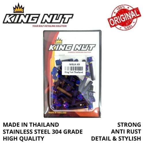 Foto Produk Baut Blok Ninja Probolt Thailand Blue dari speed60