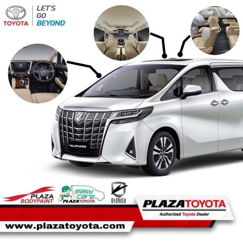 Foto Produk DP PAKET KEMERDEKAAN ALPHARD G A/T (DP 100JT) dari Plaza_Toyota