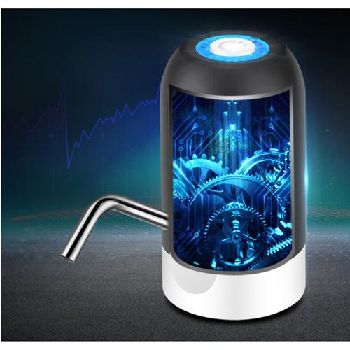 Foto Produk Pompa Galon Elektrik Recharge Dispenser Air Galon Charge DISPENSER USB - Hitam dari yoyosoo