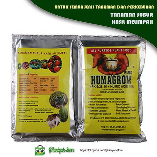 Foto Produk Humagrow NPK Plus Humid Acid 10% Kemasan 50gr / Gram dari ghaniyah-store