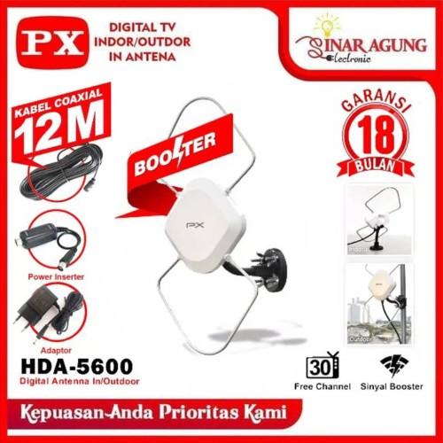 Foto Produk (HARGA PROMO) ANTENA DIGITAL TV INDOOR/ OUTDOOR ANTENA PX HDA - 5600 dari sinar agung electronic