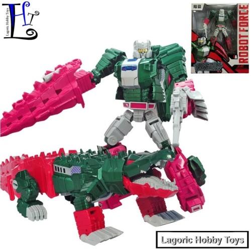 Foto Produk Transformers SkullCruncher (Champsosaurus) Titans Return Weijiang dari Lagoric Hobby Toys