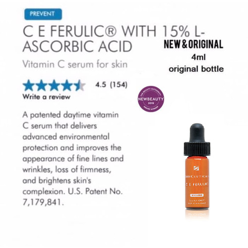 Foto Produk Skinceuticals CE Ferulic C E Ferulic sample vitamin C serum dari Winnie's Stores