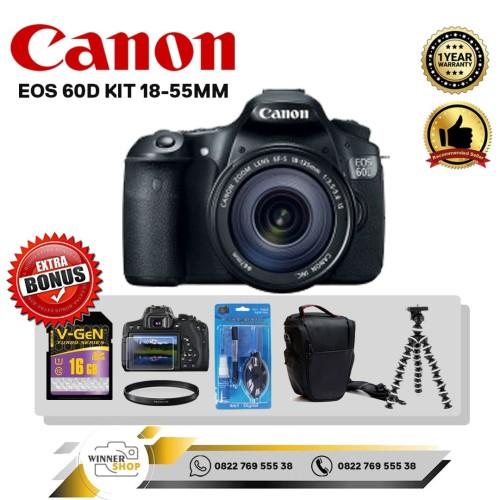 Foto Produk CANON EOS 60D KIT 18-55MM IS II dari winner,shop camera