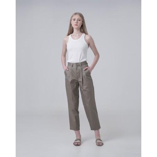 Foto Produk This Is April - Marlow Ankle Length Pants Olive 620380 dari This Is April