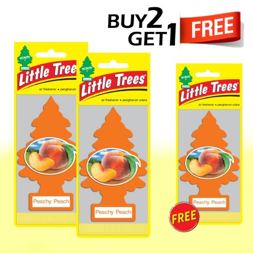 Foto Produk Buy 2 Get 1 FREE Little Trees Peachy Peach dari LITTLE TREES INDONESIA