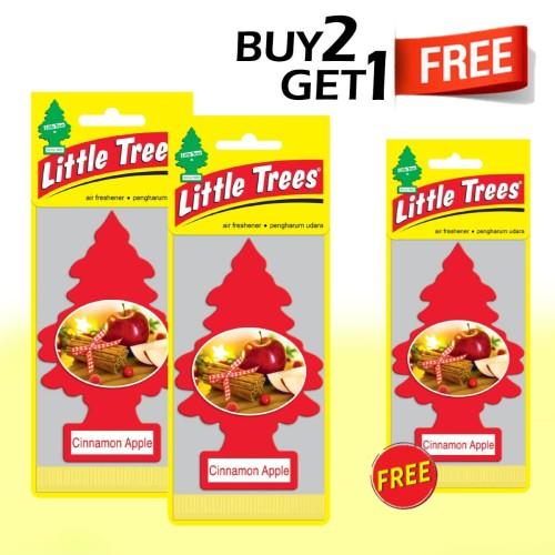Foto Produk Buy 2 Get 1 FREE Little Trees Cinnamon apple dari LITTLE TREES INDONESIA