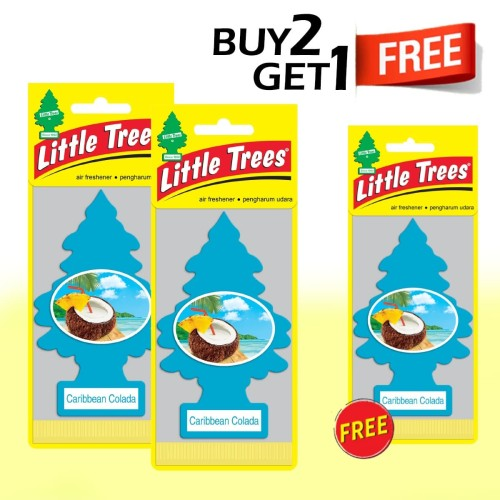 Foto Produk Buy 2 Get 1 FREE Little Trees Caribbean Colada dari LITTLE TREES INDONESIA