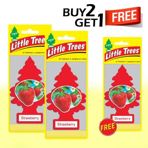 Foto Produk Buy 2 Get 1 FREE Little Trees Strawberry dari LITTLE TREES INDONESIA