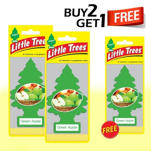 Foto Produk Buy 2 Get 1 FREE Little Trees Green Apple dari LITTLE TREES INDONESIA