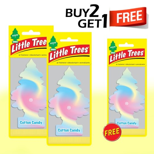 Foto Produk Buy 2 Get 1 FREE Little Trees Cotton Candy dari LITTLE TREES INDONESIA