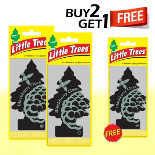 Foto Produk Buy 2 Get 1 FREE Little Trees Blackberry Clove dari LITTLE TREES INDONESIA