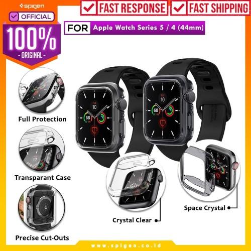 Foto Produk Case Apple Watch 5 / 4 Spigen Ultra Hybrid 44mm / 40mm Clear Casing - 44MM, Space Crystal dari Spigen Official