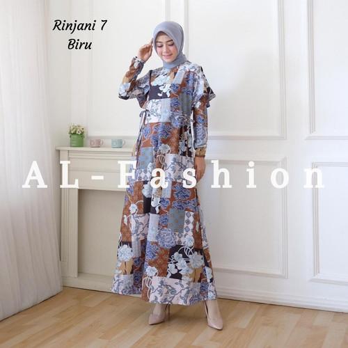 Foto Produk DRESS MUSLIM RINJANI - 7 BIRU, M dari supplier tanahabang