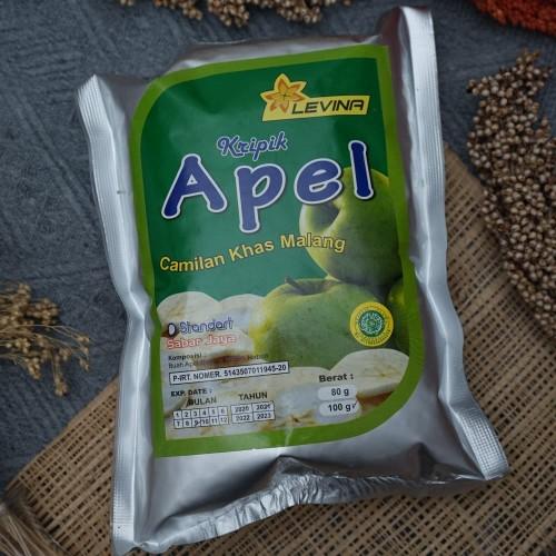 Foto Produk Keripik Apel standart 100 gram kripik buah Malang dari kripio