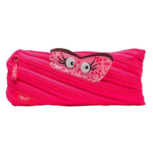 Foto Produk Pouch Lucu / Tempat Pensil - Zipit Talking Monster Pouch - Sky Pink dari Zipit Indonesia