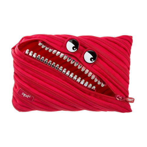 Foto Produk Pouch Lucu / Tempat Pensil - Zipit Grillz Monster Jumbo Pouch - Merah dari Zipit Indonesia