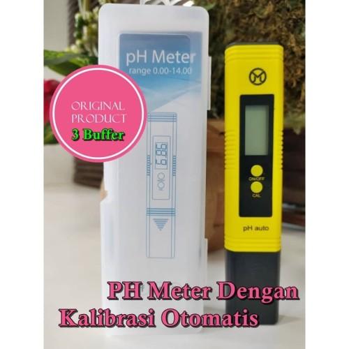 Foto Produk Mediatech PH Meter Auto Kalibrasi Dengan 3 Serbuk Kalibrasi P-2Z dari Beauty n Health