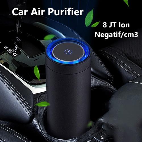 Foto Produk Car Air Purifier Ion Filter Carbon | Pembersih Penjernih Udara Mobil - Hitam dari Gentleman Car