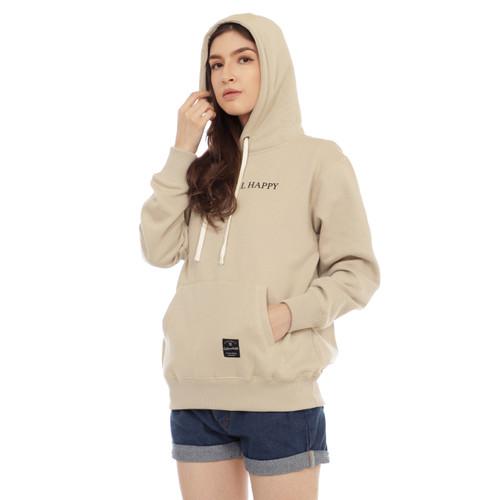 Foto Produk Cottonology Sweater Jaket Hoodie Wanita Niken khaki - XXL dari Cottonology Indonesia