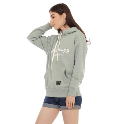 Foto Produk Cottonology Sweater Jaket Hoodie San Fransisco Wanita Mint - L dari Cottonology Indonesia