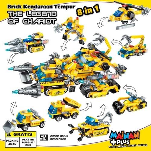 Foto Produk MAINAN BRICK LEGO QMAN KENDARAAN TEMPUR THE LEGEND OF CHARIOT 8 IN 1 dari MainanPlus