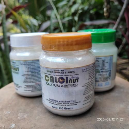 Foto Produk calcinut kalsium dan vitamin gecko dan reptil 150gr dari REPTILX