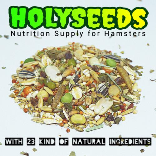 Foto Produk HOLYSEEDS Hamster Food / Makanan Hamster 1000 Gram dari Akashams