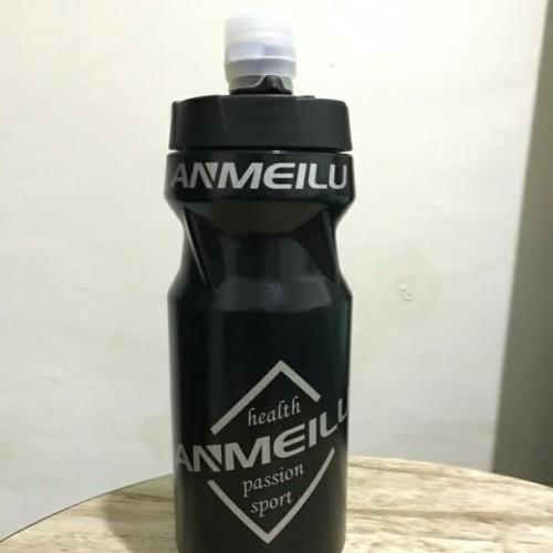 Foto Produk Bidon Botol Minum Sepeda Keren - Hitam dari sixteengear