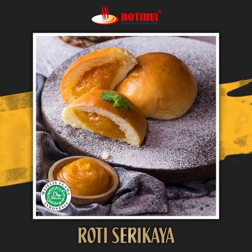 Foto Produk ROTI SERIKAYA KAYA BUN ROTIHUI dari Rotihui home bakery