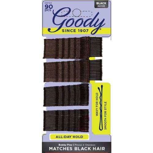 Foto Produk Goody styling essentials 1940994/ 03704 bobby pins black 90ct dari Goody Hair USA