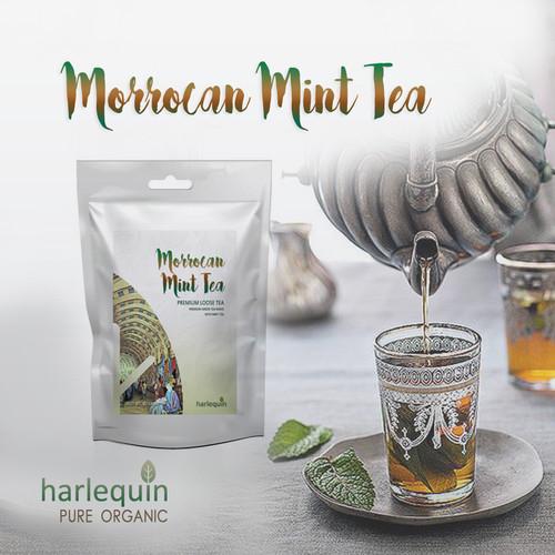 Foto Produk Morrocan Mint tea 150 gram Teh Maroko dari Harlequin Herb
