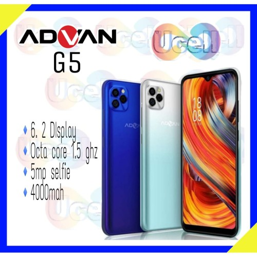 Foto Produk Advan G5 - 4GB/32GB - Garansi Resmi - Cambrige Blue dari ucell cempaka