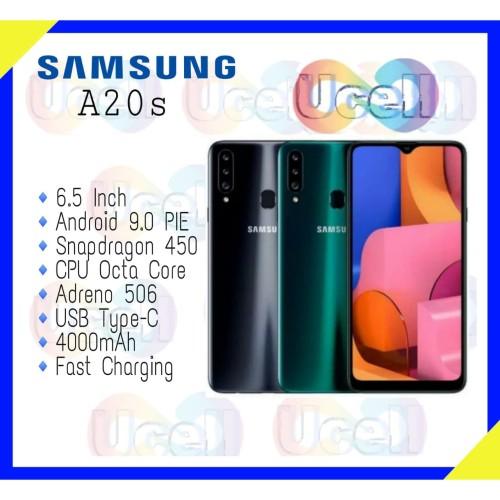 Foto Produk Samsung Galaxy A20s - 4GB/64GB - Garansi Resmi 1 Tahun dari ucell cempaka