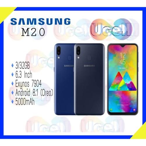 Foto Produk Samsung Galaxy M20 - 3GB/32GB - Garansi Resmi - Hitam dari ucell cempaka