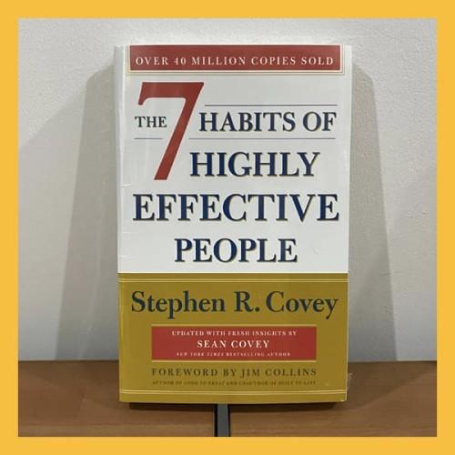 Foto Produk Buku Import The 7 Habits of Highly Effective People (Original & New) dari Book World