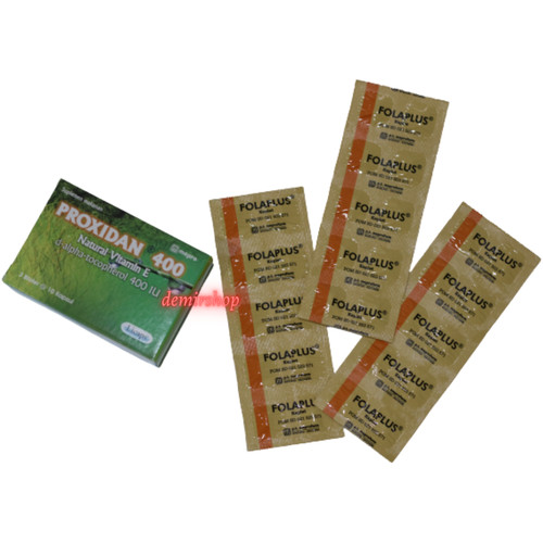 Foto Produk Paket Promil Asam Folat dan Vitamin E dari Demir Shop
