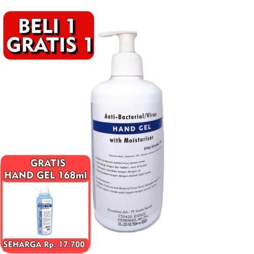 Foto Produk Hand Sanitizer 500ml GEL Promo Murah Alcohol 70% Nice Care dari GCL Official Store