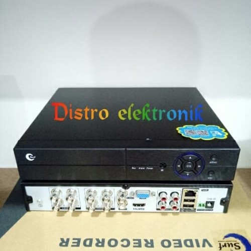Foto Produk DVR 8 CH XMEYE FULL HD 1080P MURNI SERI TERBARU H264 H265 dari Distro elektronik