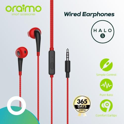 Foto Produk Oraimo Headset / Earphone / Handsfree with Mic 3.5mm IOS/Android E21N dari Oraimo_indonesia