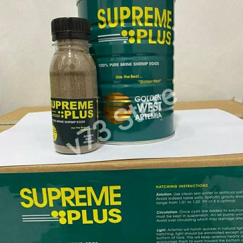 Foto Produk Artemia Supreme Plus Repack 50gr Golden west dari V73 Store