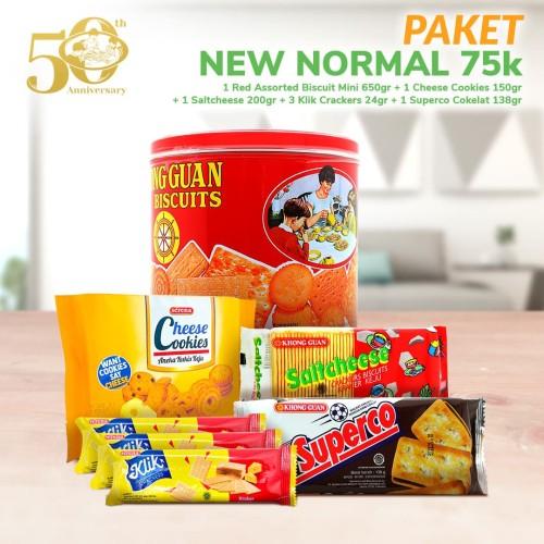 Foto Produk Paket New Normal 75k dari Khong Guan Biscuits Shop