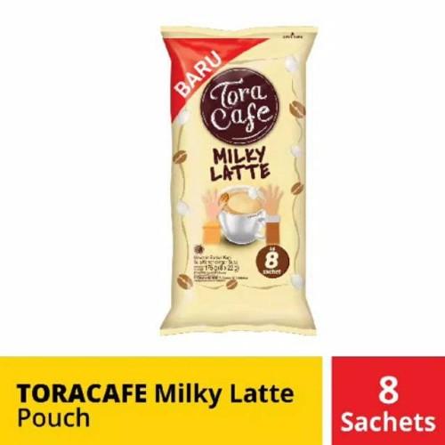 Foto Produk Tora Cafe Milky Latte Pouch 8 x 23 gr dari S'MART STORE