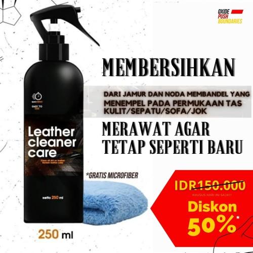 Foto Produk Premium Leather Bag Polish And Cleaner Pembersih Khusus Kulit dari kezhia