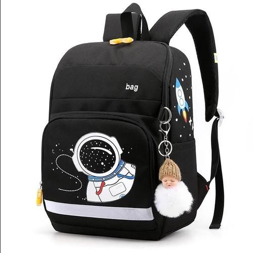 Foto Produk BISA COD Tas Sekolah Anak Laki laki Murah/Tas Anak TK SD/Tas Astro 03 - Hitam dari Tas Sekolah Hananstore