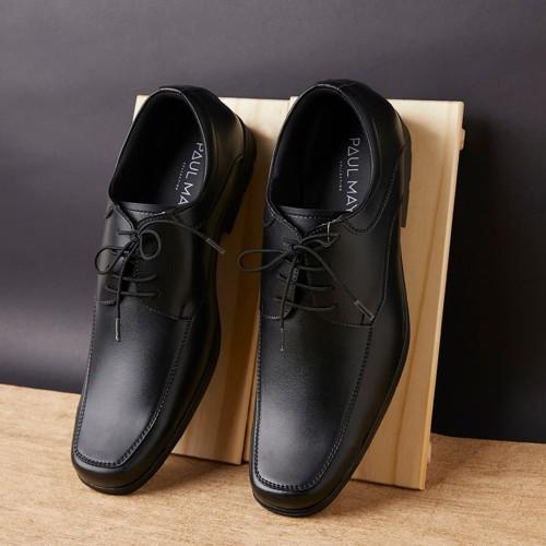 Foto Produk Paulmay Sepatu Formal Pria Milan 73 - Cokelat, 39 dari Paulmay