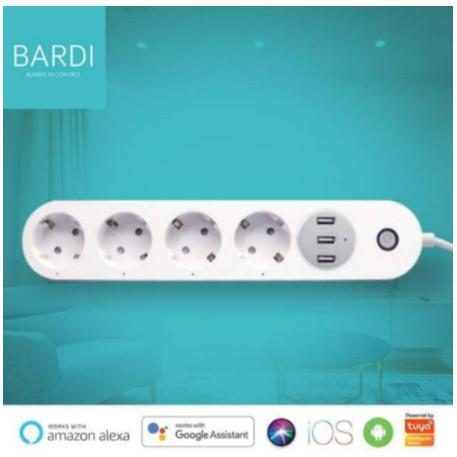 Foto Produk BARDI Smart Extention Power Strips (Smart Stop Kontak, WIFI) dari UnalomeShopID