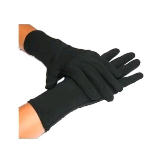 Foto Produk Sarung Tangan kain hitam handmedical black formal Sarung Tangan dari BINTANG LIMA 9