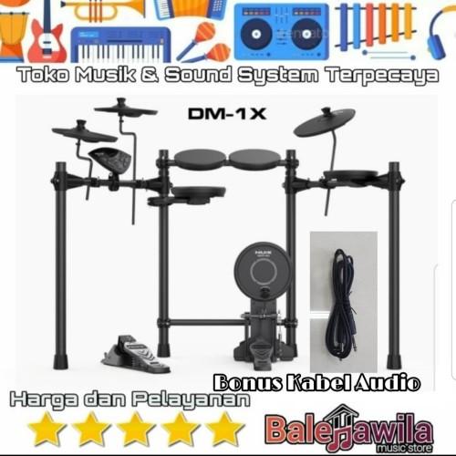 Foto Produk Drum Elektrik Electric Drum Set Nux DM 1 X New NUX DM1X DM 1X dari TIPTOP MUSIK&SOUNDSYSTEM